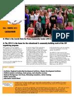 Jewish Voice for Peace Community Center Program Fall 11