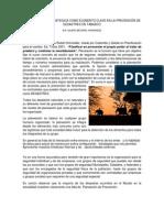 Planeacion Estrategica en Desastres en Tabasco