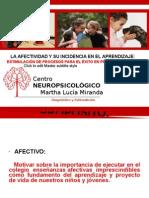 Afectividad e Incidendicia en Aprendizaje 4.0