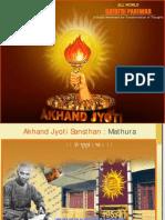 Akhandjyoti Campaigning