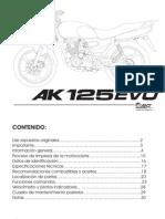 Manual 125EVO1486