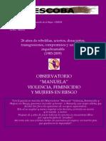 LA ESCOBA - Boletina Feminista, SEGUNDA ÉPOCA AÑO2 Nº 6