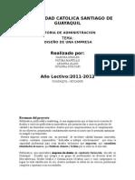 TUTORIA DE ADMINISTRACION