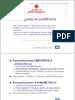 proyecciones axometricas
