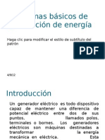Sistemas básicos de generación de energía