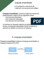 Lenguaje Ensamblador y Lenguaje Maquina