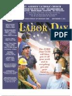 September 4, 2011 Bulletin