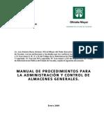 Manual Almacenes 2009