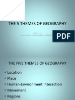 Five Themes Geography