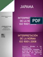 Interpretación ISO 9001 2008