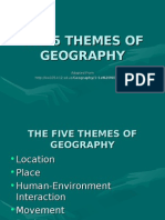 5 Themes Geography