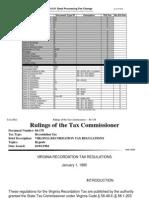 Virginia Tax Exemption Code -- 84-178