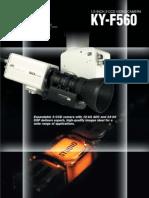 Catálogo JVC KY-F560