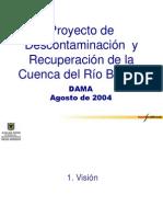 Proyecto de Descontaminación  y Recuperación de la Cuenca del Río Bogotá DAMA