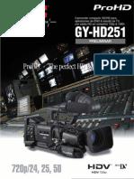 Catálogo JVC GY-HD251