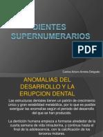 Dientes Supernumerarios Arrieta Delgado