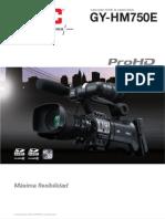 Catálogo JVC GY-HM750