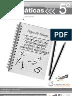 5º Unidad 1 Ampliacion de conocimientos acerca de los numeros naturales (A)