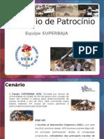 Equipe SuperBaja - Portfólio de Patrocínio 2011 versão biruta