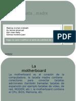 Tarjeta madre