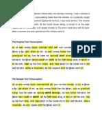 Transcription (1)