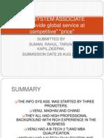 Info System Associate