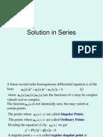 L-6 de Series Solution