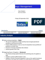 Case Analysis Strategic Management Tata Tea Limited [download to view full presentation]