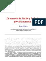 La Sucesion de Stalin
