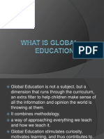 What is Global Education (1)