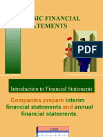 Basic Financial Statement