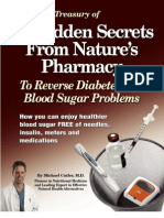 Forbidden Secrets From Nature's Pharmacy to Reverse Diabetes and Blood Sugar Problems