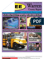 The Early September, 2011 edition of Warren County Report