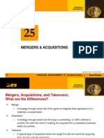 Chapter 25-Mergers & Acquisitions