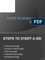 Steps to Start a SSI