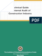 Construction Industry Intrnal Audit