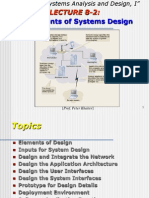 Elements of Systems Design