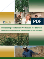 8 Increasing Biofuels Feedstock Production