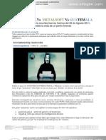 Peritaje de los sucesos del 29AGOST - Anonymous en Guatemala