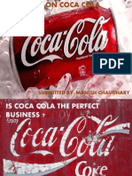 Economics Case Study - Is Coca Cola the Perfect Business