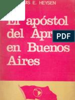 1973. El apóstol del APRA en Buenos Aires. Luis Heysen