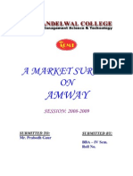 Amway Personal Selling