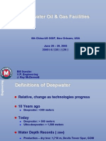 Deepwater Oil & Gas Facilities
