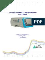 FieldSpec HandHeld 2 - User Manual