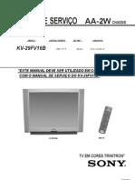 Manual de Servicio KV-29FV16B