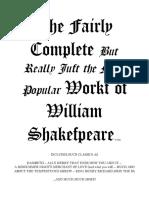 Scrambled Shakespeare