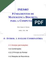 01 - Análise Combinatória - REVISÃO SOBRE ARRANJOS - p41arranjos
