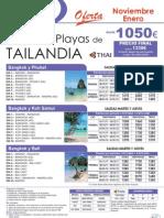 01-09-2011 Oferta TAILANDIA - Nov-Ene desde 1050[1]
