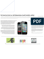 Technological Determinism Empowers Apple