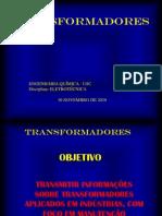 TRANSFORMADORES - trabalho